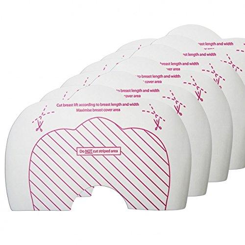 Petto Hebe reggiseno adesive /& Pasties Trasparente misura A-C. Bye bra