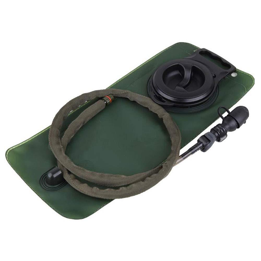 sinairsoft Hydration Bladder 2.5 L水Reservoir、Tactical水ストレージ膀胱バッグサイクリング登山ハイキングキャンプバックパック、大きな開口部、クイックリリース断熱チューブ&シャットオフバルブ B07F1JF3KQ OD