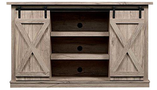 Pamari Wrangler Sliding Barn Door TV Stand, Ashland Pine by Pamari