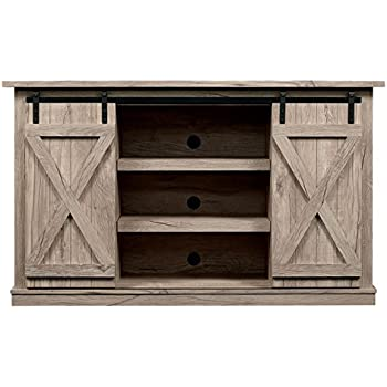 barn door 62 inch tv stand santa fe kitchen dining. Black Bedroom Furniture Sets. Home Design Ideas