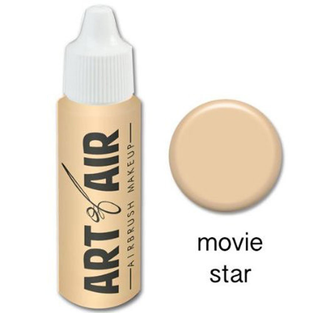 Art of Air Airbrush Makeup - Foundation 1/2oz Bottle Choose Color (1/2 oz Movie Star)