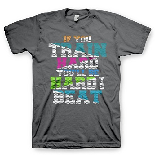 If You Train Hard You'll Be Hard To Beat - Youth Medium - All Star Outfitters Cheerleading Apparel