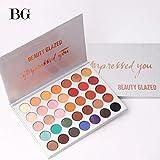 Best Eye Shadow Palettes - Beauty Glazed 35 Colors Eyeshadow Palette Eye Shadow Review