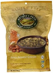 NATURES PATH GRANOLA GF HNY ALMND, 11 OZ