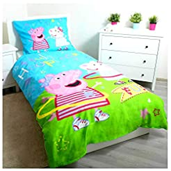 Peppa Pig Hula Single Cotton Duvet Cover...