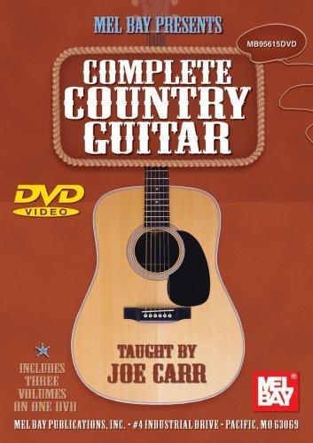 Complete Country Guitar Guitar (Flatpicking & Fingerpicking) Dvd [Region 1] [NTSC]
