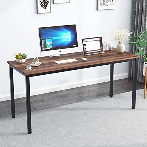 ssogesfurniture 63 inches Large Size Office Desk Computer Desk Gaming Desk Computer Table Sturdy Office Desk Writing Desk