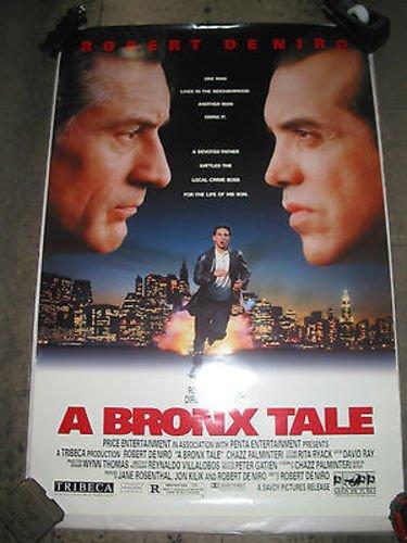 A BRONX TALE / ORIGINAL U.S. ONE-SHEET MOVIE POSTER (ROBERT DENIRO) (Bronx Stores)