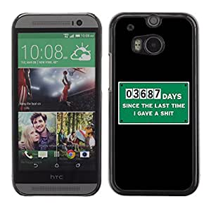 CaseCaptain Carcasa Funda Case - HTC One M8 / LOL Sign /