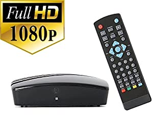 Digital TV Converter Box for viewing and recording HD digital channels for FREE (Instant or Scheduled Recording 1080P HDTV HDMI Output 7 Day Program ...  sc 1 st  Amazon.com & Amazon.com: Digital TV Converter Box for viewing and recording HD ... Aboutintivar.Com