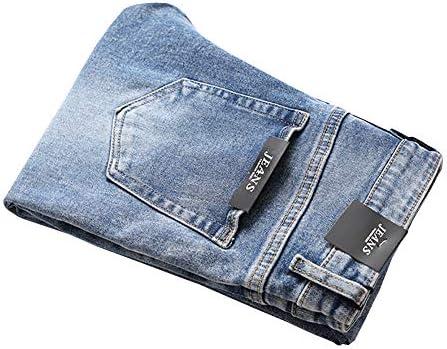 LONGBIDA Men's Slim Fit Jeans Stretch Tapered Leg Jean    Product Description