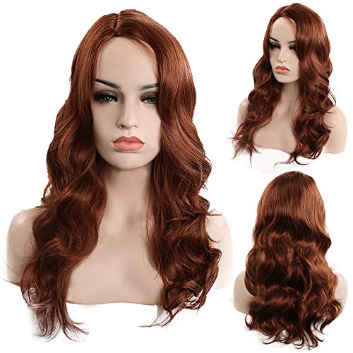 (Hot Sale Women Fashion Lady Anime Long Curly Wavy Hair Party Cosplay Full Wig Natural)