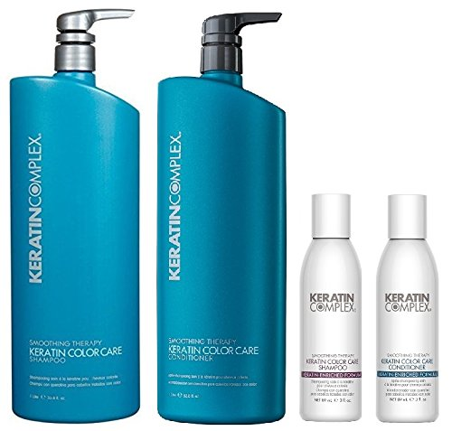 Keratin Complex Color Care Shampoo N Conditioner and Travel Set, 33.8 Ounce ()
