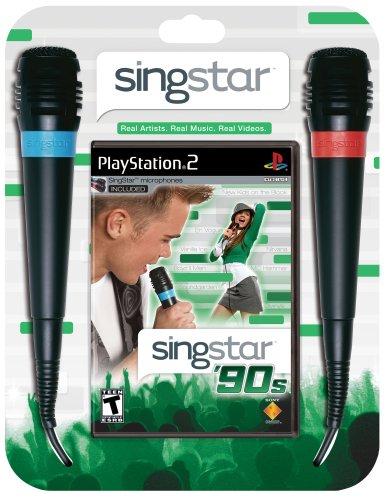 SingStar '90s - PlayStation - Singstar Playstation 2 Bundle