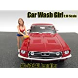 Car Wash Girl Jennifer Figurine / Figure For 1:18 Models by American Diorama 23845