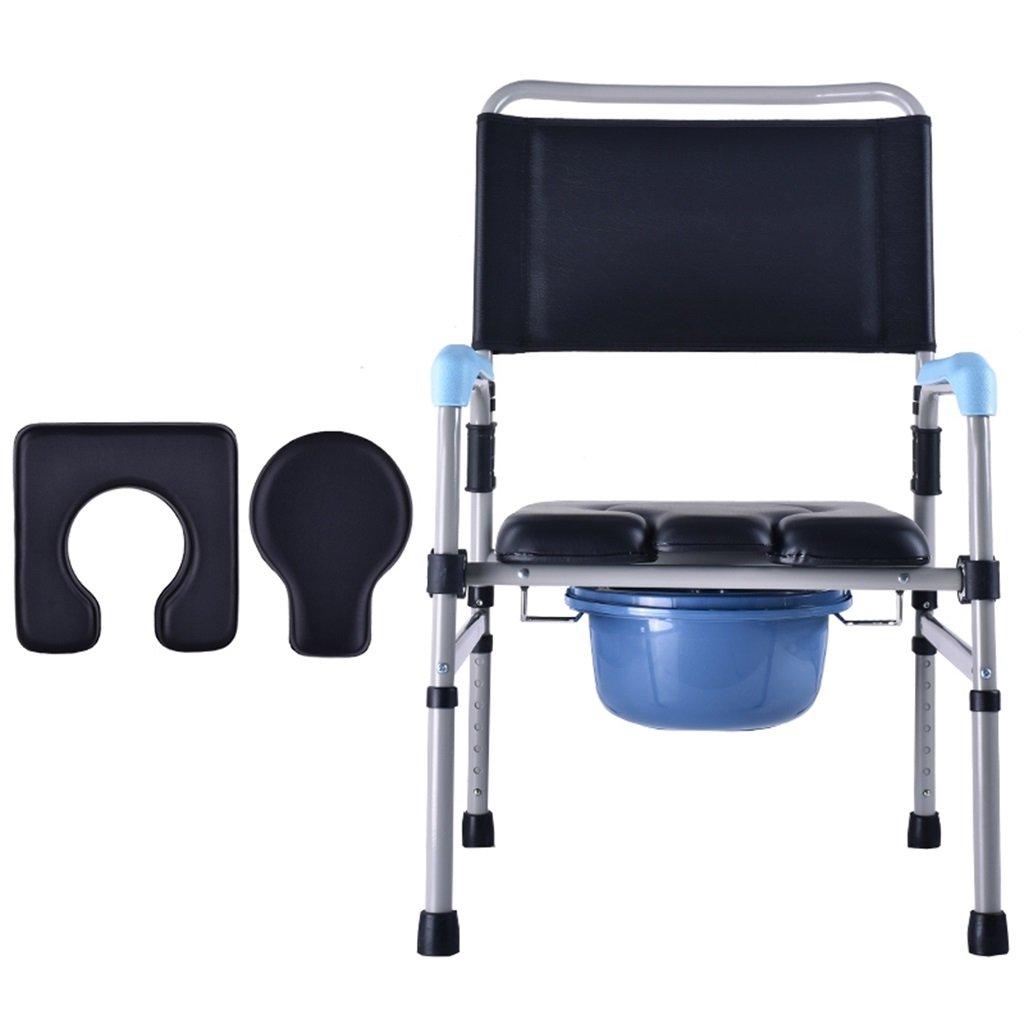 【日本産】 妊娠中の女性のトイレシートポータブルスチールチューブのトイレの椅子アンチスリップの手すり高齢者の障害者頑丈で耐久性のあるバスルームシャワースツールバケットの高さ調節可能な椅子の椅子Max.150kg B07F6WR1X6 B07F6WR1X6, 楽器PLAZA:b3e6a561 --- eastcoastaudiovisual.com