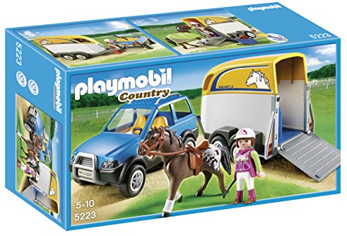 Playmobil Horse Trailer - PLAYMOBIL® SUV with Horse Trailer
