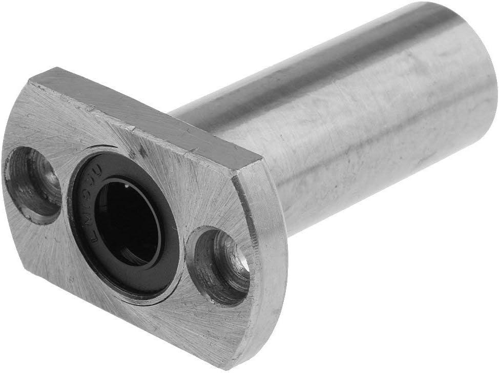 10mm Ball Bearing Shaft Diameter Nologo CSJ-CSJ 1 Piece Long Flange Bearing Inner Diameter