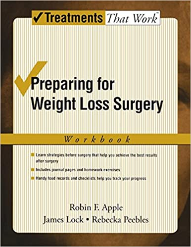 Preparing For Weight Loss Surgery Workbook Treatments That Work