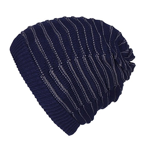 double tapas hat Halloween blue Head beanie sombreros Navidad stripe sombreros heap engrosamiento Navy hombres de caliente Señoras Set invierno Doble Color Sombrero hat MASTER Hat Ca tapas circulares UwZqdZ