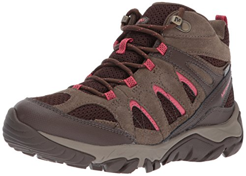 Canteen Vent Waterproof Women's 7 M US Hiking Boot Mid Outmost Merrell qtI0w