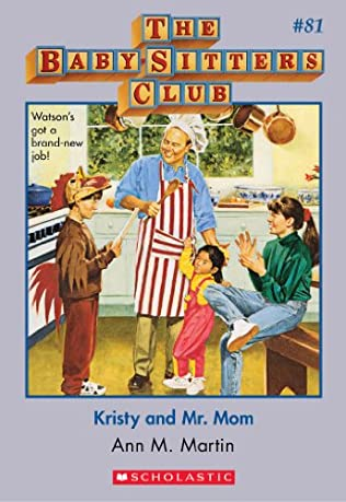 book cover of Kristy and Mr. Mom