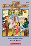 Kristy and Mr. Mom (Baby-Sitters Club) by Ann M. Martin front cover
