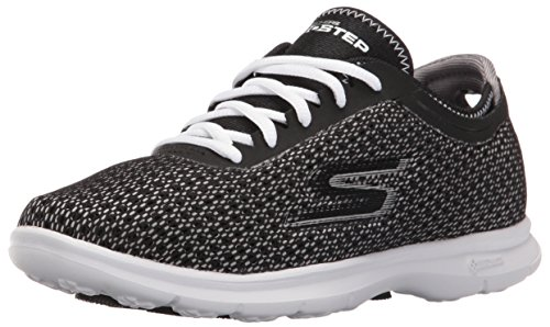 Skechers Go Step Prismatic Womens Zapatilla De Fitness - SS17 Negro/Blanco (Black/White Multi)