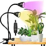LED Grow Light for Indoor Plant, Gooseneck Dual