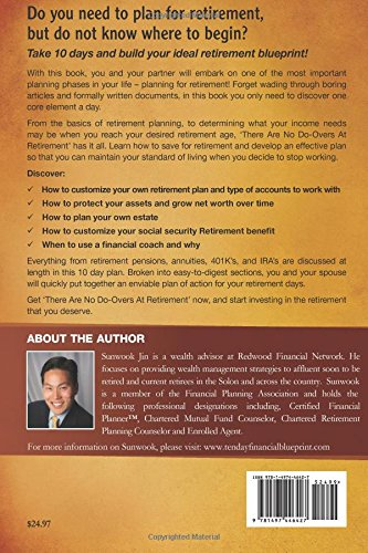 There are no do overs at retirement a 10 day financial blueprint to there are no do overs at retirement a 10 day financial blueprint to boost your retirement confidence sunwook jin 9781497446427 amazon books malvernweather Image collections