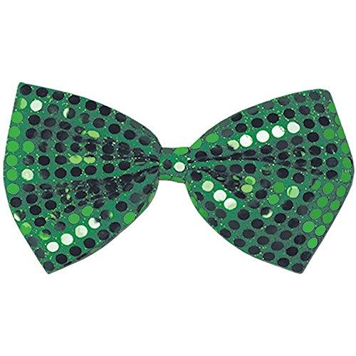Green Glitz N Gleam Bow Tie - One Size