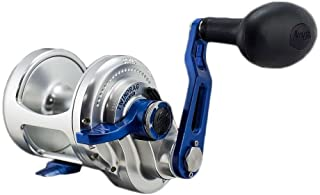 product image for Accurate Boss BX-500X Single Speed Reel - Silver/Blue - Right Handed