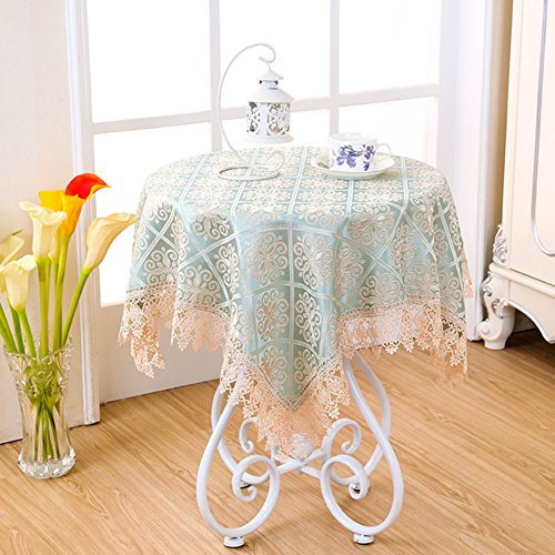 TRE countryside small round lace tablecloth/Bedside table cloth/table cloth faric/ oblong table cloth/ table cloth-A 100x150cm(39x59inch) ()