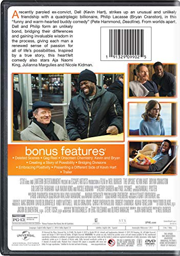 Amazon com: The Upside: Kevin Hart, Bryan Cranston, Nicole