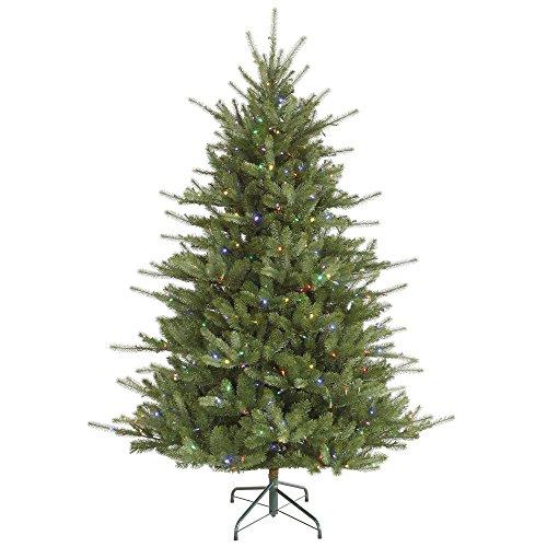 (Vickerman 6.5' Colorado Spruce Artificial Christmas Tree w/Multi-Color LED Lights)