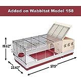 Rabbit Hutch Extension | Wood Rabbit Hutch