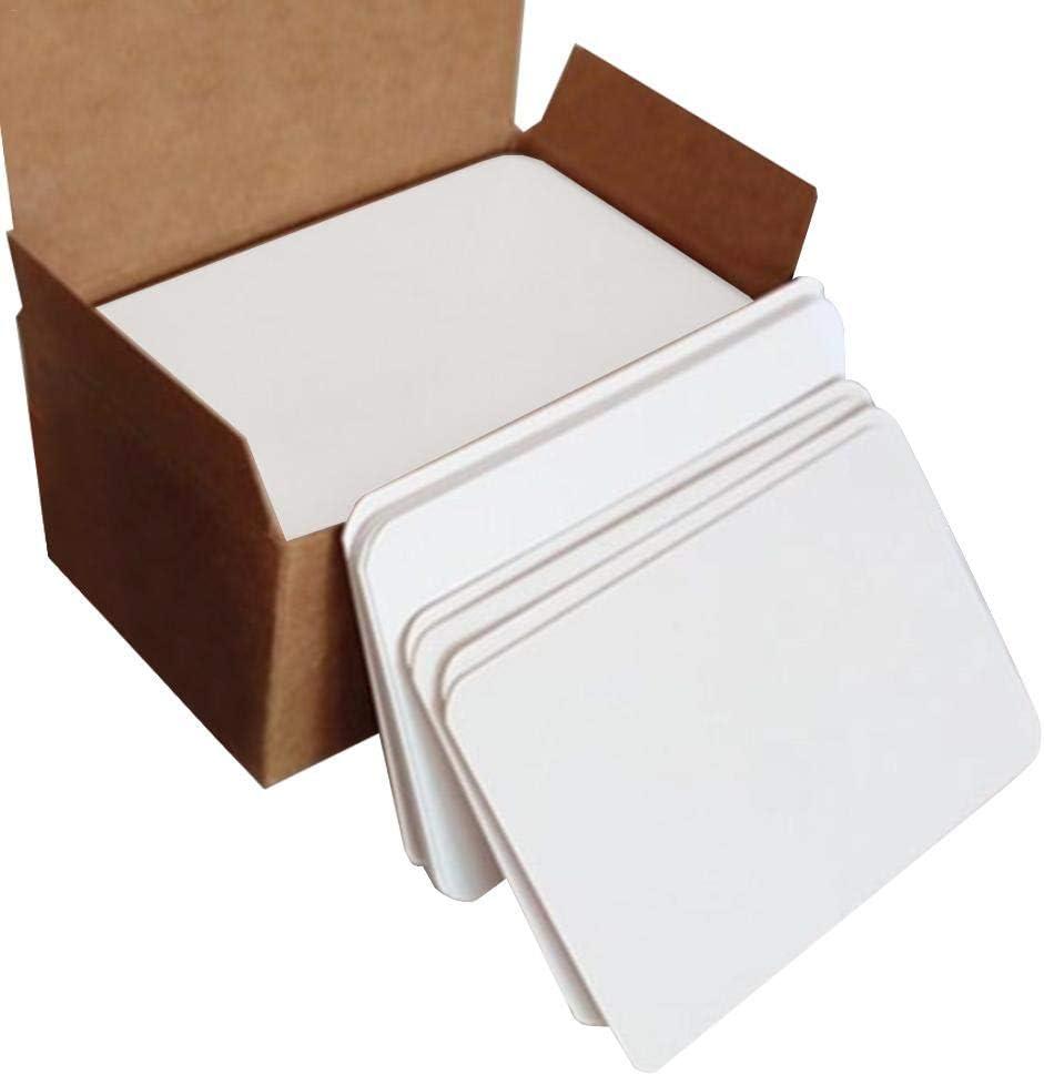 Bogget 2 Boxes 200Pcs Blank Playing Card Card Hard Paper Card Paper DIY Board Game Hard Paper Board Game