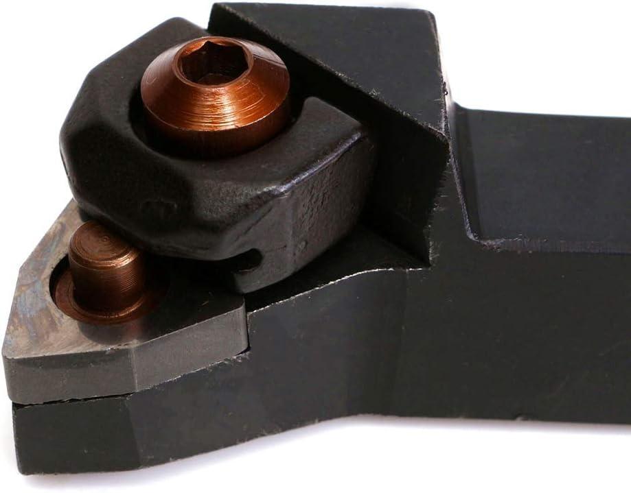 Shentesel 13Pcs Stainless Steel WNMG0804 Inserts Wrench WWLNR1616H08 Turning Tool Holder