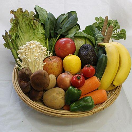有機・無農薬栽培野菜と安心果物セット(品目希望可)