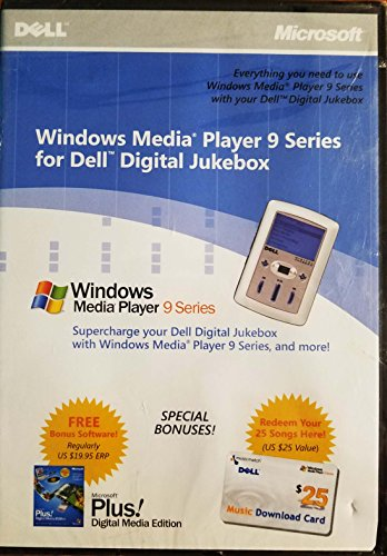 Windows Media Player 9 Series for Dell Digital Jukebox (Everything you need to use Windows Media Player 9 Series with you Dell Digital Jukebox) Software (Dell Digital Jukebox)