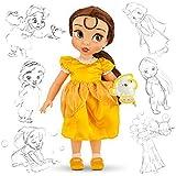 Officiel Disney Beauty & The Beast 38cm Belle Animator Doll Avec des accessoires Chip