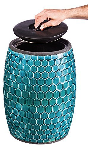 Evergreen Enterprises 4STL026 Honeycomb Storage Garden Stool