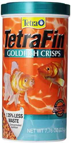 TetraFin Goldfish Crisps Clear Water Advanced Formula, 7.76-Ounce