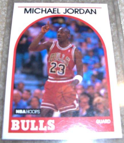 - 1989 NBA Hoops Michael Jordan # 200 NBA Basketball Card