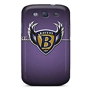 Durable Baltimore Ravens Back Case/cover For Galaxy S3