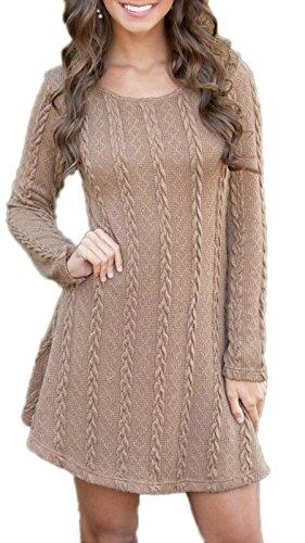 knitting pattern ladies tunic dress - 5