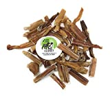 Sancho & Lola's Odor-Free Bully Bites for Dogs - 1.25 LB Rawhide-Free High-Protein Beef Pizzle Dog Chews Made in USA