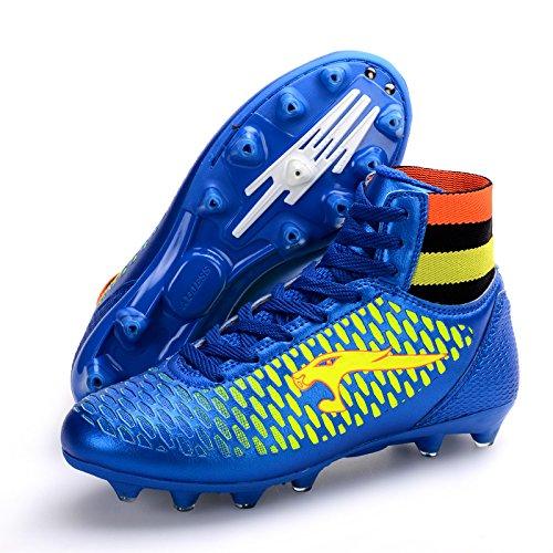 Xing Lin Chaussures De Football Les Hommes Et Les Femmes Chaussures De Football Haute Antidérapant Et Résistant À LEau Chaussures De Sports Football Pour Enfants Adultes Dans La Formation De La Concu