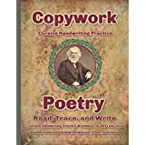Copywork Cursive Handwriting Practice Poetry Read, Trace, and Write Cursive Handwriting Practice for Boys and Girls Poems fro