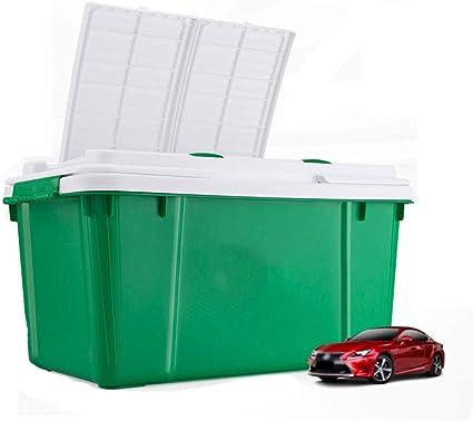 Caja de almacenamiento del maletero del coche Caja de la cola ...